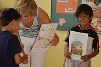 Také školy v regionu přivítaly své prvňáčky.