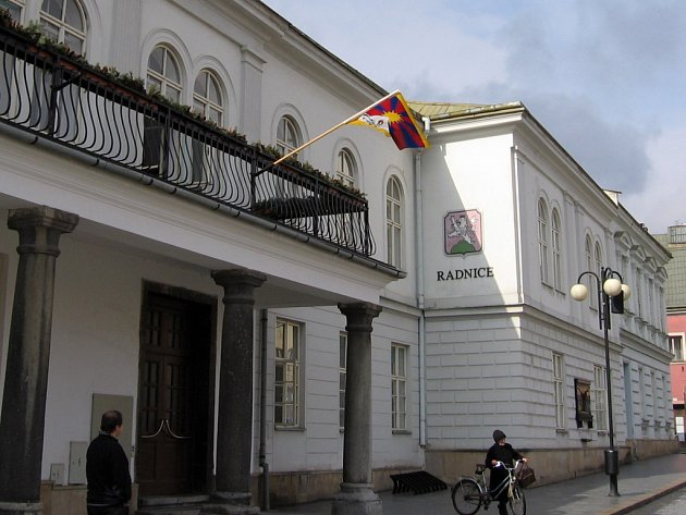 Jedním z měst, která se dnes připojila ke kampani Vlajka pro Tibet, je Lipník nad Bečvou.