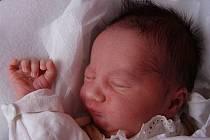 Jan Hoffmann, Radslavice,  narozen 2. 3. v Přerově, míra 52 cm, váha 3 370 g