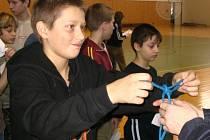 Hasiči zakončili rok soutěží nazvanou Soptík MHJ 2007.