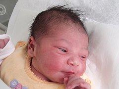 Klaudie Siváková, Lipník nad Bečvou, narozena dne 6. května 2014 v Přerově, míra: 50 cm, váha: 3300 g