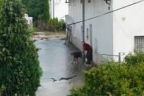 Záplavy v Bělotíně