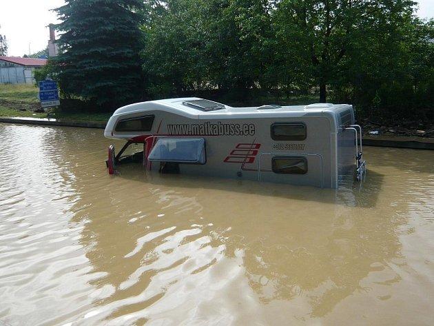 Povodně červen 2009