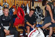 Příprava hokejistů je v plném proudu.