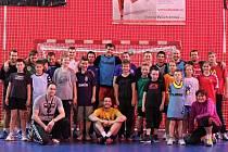 Mladší žáci využili možnosti trénovat s extraligovými profesionály
