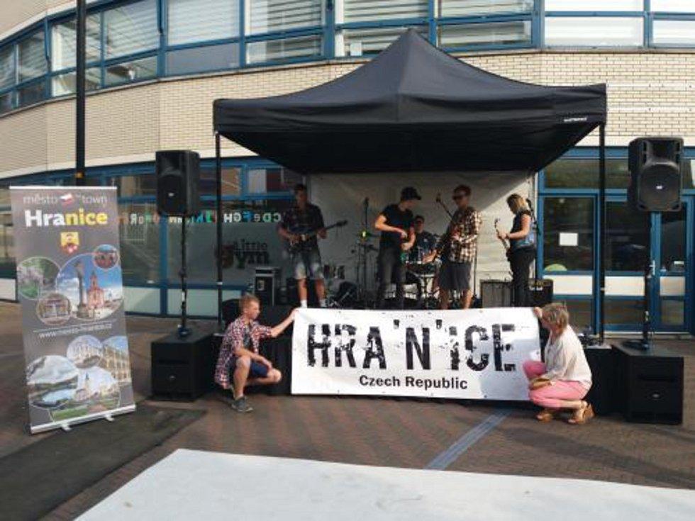 Hranická kapela Hra'n'ice reprezentovala město v Nizozemsku.