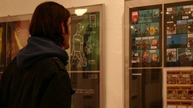 Hranická výstavní síň Synagoga patří až do poloviny ledna výstavě českého komiksu s názvem Generace Nula.