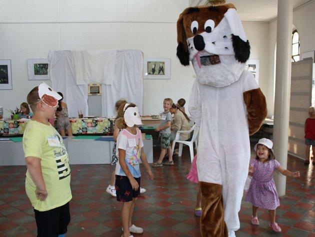 Akce pro děti s názvem Malujeme s Fíkem v Hranicích