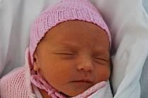 Barunka Ševčíková, Přerov, narozena 3. dubna 2012 v Přerově, míra 43 cm, váha 2 200 g