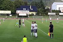 Fotbalisté Hranic přehráli doma v úvodním kole nové sezony Všechovice 4:1.