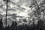 Zimní odpoledne nad Kozlovem