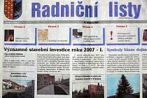 Radniční listy mění vydavatele.