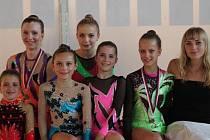 Přerovské moderní gymnastky mají letos za sebou už řadu úspěšných závodů.