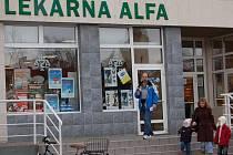 Lidé v těchto dnech často vyhledávají lékárny.
