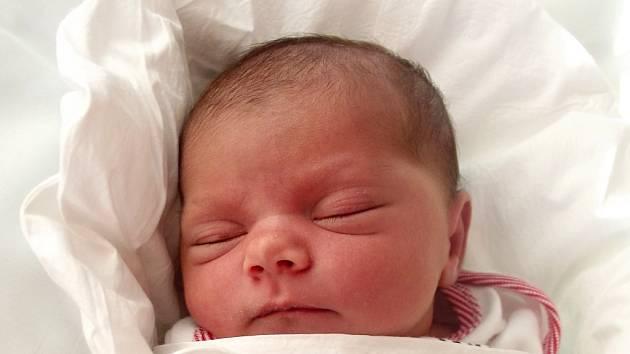 Zlatuše Mirgová, Přerova, narozena dne 2. února 2014 v Přerově, míra: 48 cm, váha: 3390 g