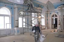 Rekonstrukce Zrcadlového sálu v Hranicích