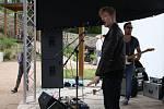 Koncert Adama Mišíka v zámecké zahradě v Hranicích