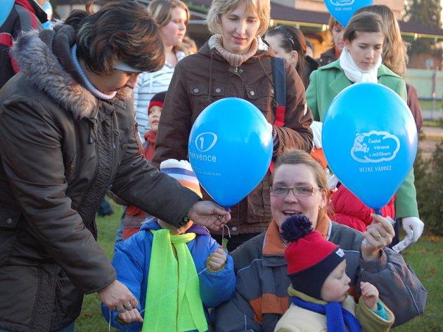 V Bochoři se to hemžilo balonky, šlo totiž o český rekord.