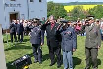 Uctění obětí válek v Bělotíně