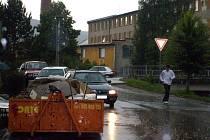 Kontejnery jsou už v Čechově ulici.