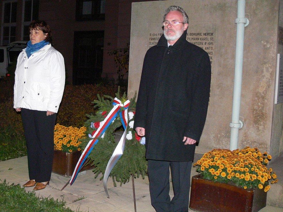 V Drahotuších slavili výročí vzniku republiky.