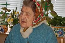 Nejstarší obyvatelka přerovského regionu před měsícem oslavila 101 let.