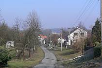 Dolní Těšice - pohled na obec