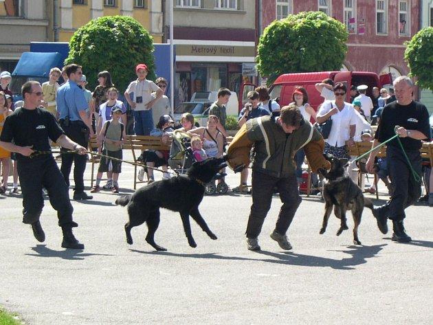 V Lipníku předvedou hasiči, městští strážníci a vojenští policisté ukázky své práce.