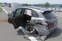 Nehoda porsche u Bělotína