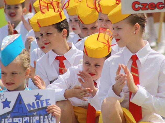 Moravské finále v mažoretkovém sportu v Hranicích