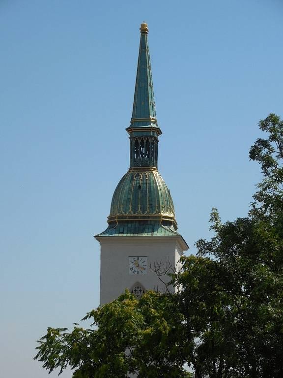 Katedrála svatého Martina v Bratislavě.