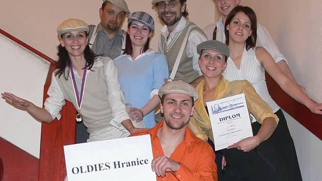 Hranická taneční skupina Oldies.