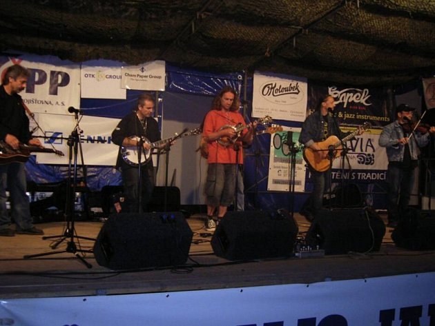 Plzeňská bluegrassová kapela COP.