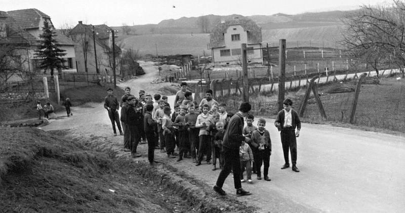 Klapotání v Ústí v roce 1966.