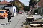 Rekonstrukce chodníků v Hřbitovní ulici v Hranicích