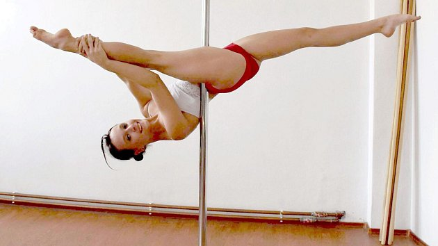 Pole dance Lucie Mikšánkové z Býškovic