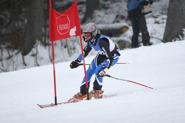 obří slalom chlapci ve Velkých Karlovicích - Razula