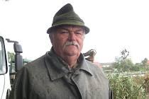 Rybář Slavoj Haška z Hustopeč nad Bečvou