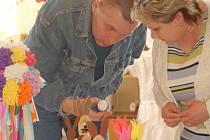 O velikonoční výstavu byl velký zájem.
