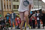 Den bez aut a Barevný den na Masarykově náměstí v Hranicích