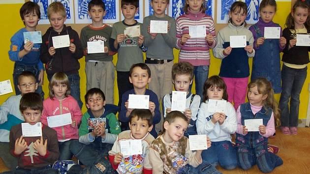 Žáci poslali Ježíškovi dopis.