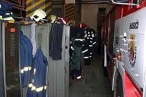 Zázemí dobrovolných hasičů v Hranicích