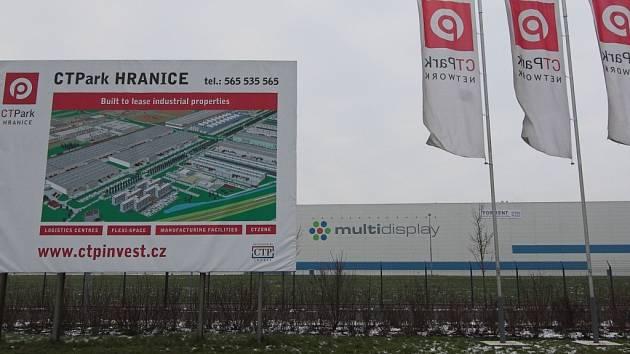 Továrna Multidisplay Hranice