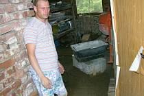 Křenovice byly výrazně postiženy lokálními záplavami v červenci roku 2007.