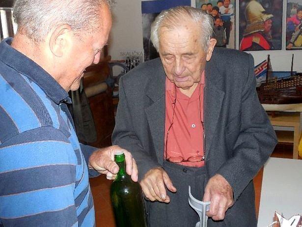 Vítězslav Přikryl ze Skaličky (vpravo)