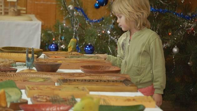 Výstavu prací studentů zdejší Střední řezbářské školy si mohli prohlédnout v sobotu a neděli lidé, kteří zavítali do Tovačova.