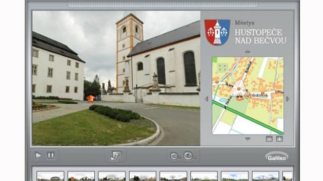 Hustopeče nad Bečvou - virtuální prohlídka na webu městyse