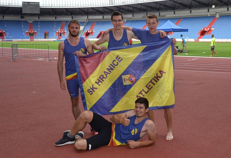 Hraničtí atleti uspěli na mistrovství Moravy a Slezska kategorií od dorostu po dospělé.