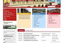 Web hranického informačního střediska
