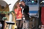 Hustopečské dny nabídly i v sobotu bohatý program pro děti i pro dospělé. Nejočekávanější hvězdou slavností byl Miro Žbirka.